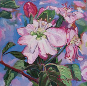 Apple blossoms 2, 16 X1 6 (1)